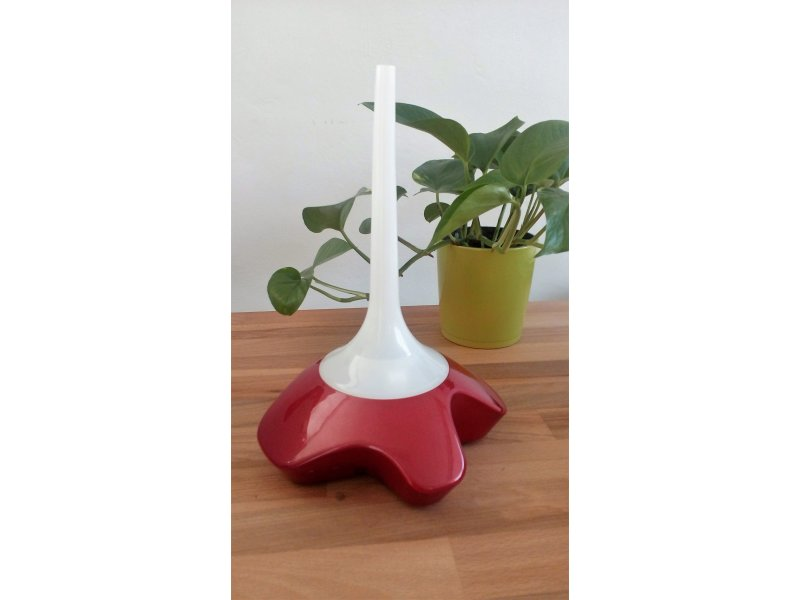 Aroma diffuser FLUTE red