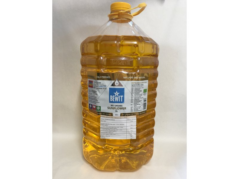 BIO SUNFLOWER OIL, 5L -