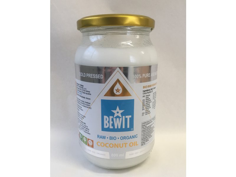 ORGANIC BIO RAW COCONUT OIL EXTRA VIRGIN