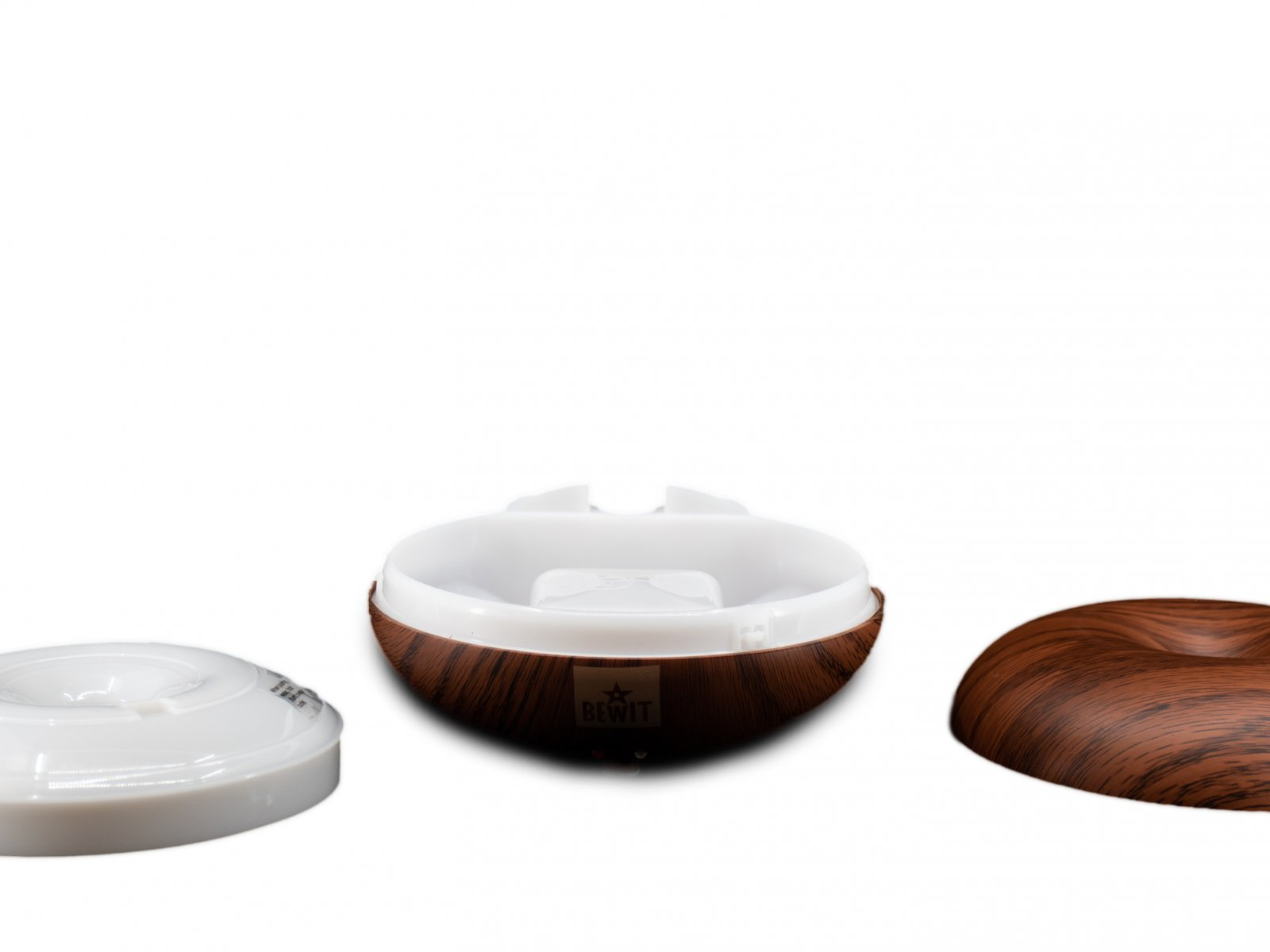 Aroma Diffuser DISC dark color of wood -  - 4