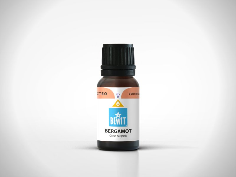 Bergamot - 100% pure essential oil, 15 ml