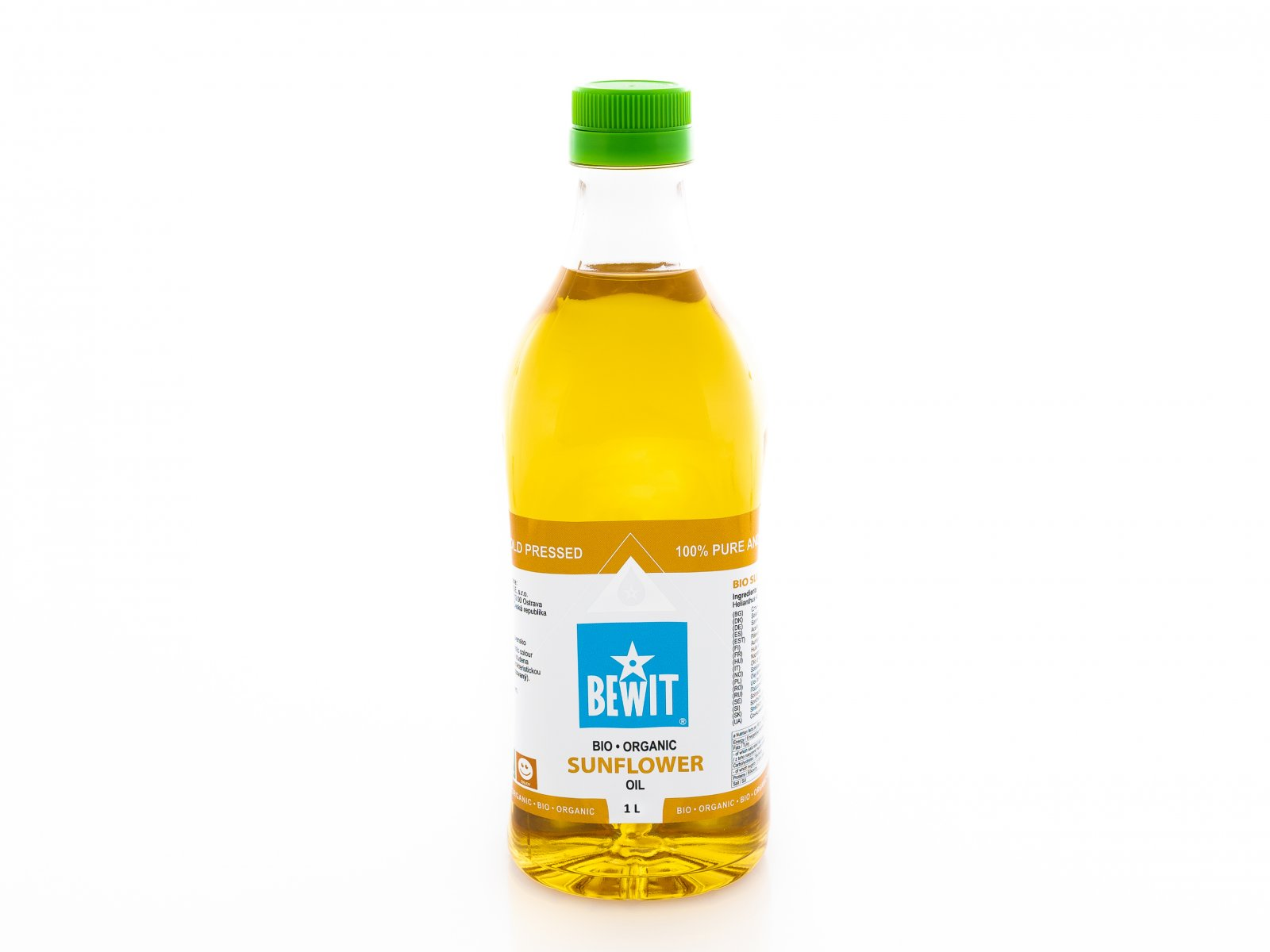BIO SUNFLOWER OIL, DEODORIZED -  - 1