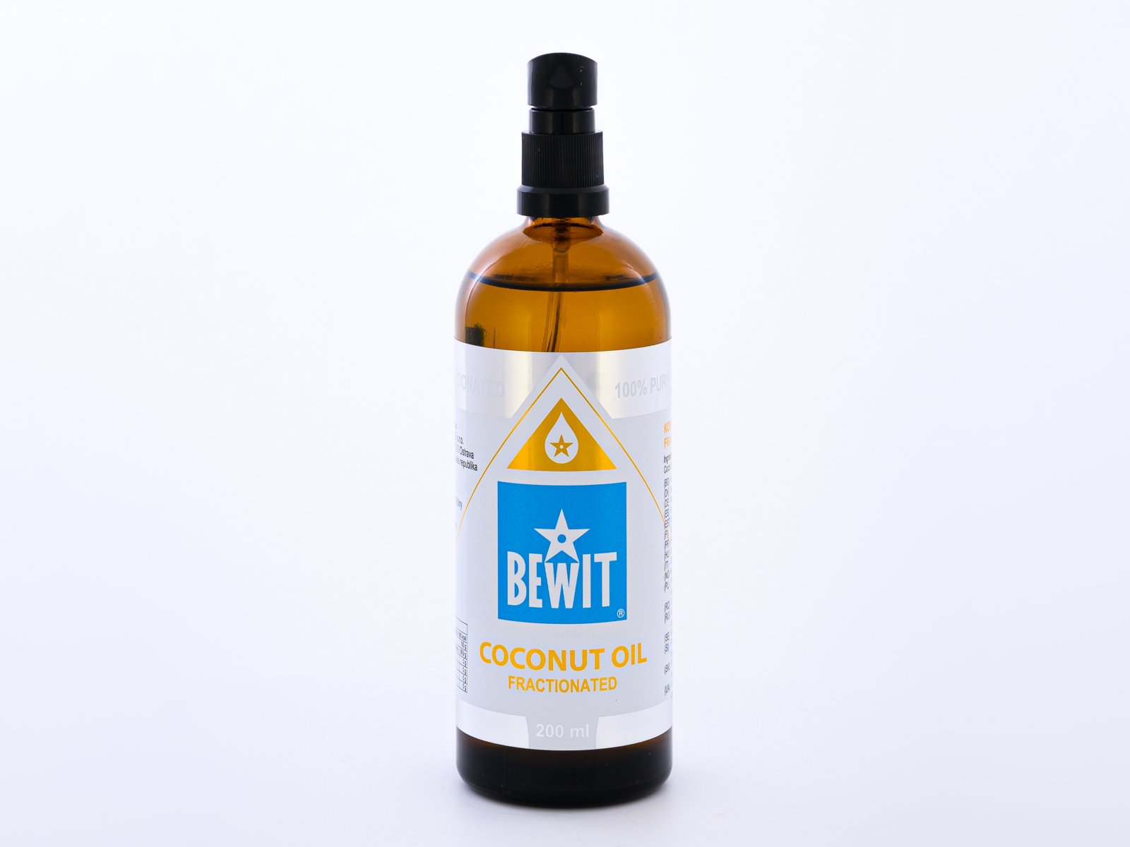 COCONUT OIL FRACTIONED 200 ML