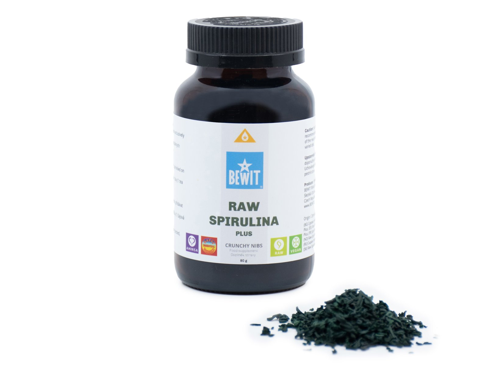 RAW SPIRULINA PLUS
